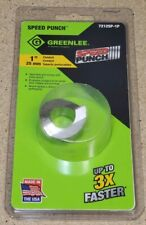 """Greenlee 7212SP-1P - 1"""" conduit speed punch - knockout - *NEW*"""