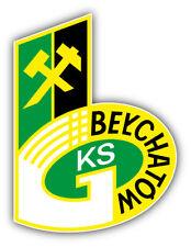 Gks Belchatow FC Poland Soccer Football Car Bumper Sticker Decal 4'' x 5''