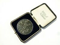 1913 British Dairy Farmers Best Skim Milk & Bread Keirby Silver Medal Boxed #DS2