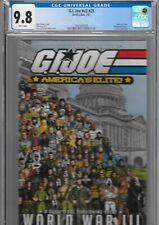 GI JOE 25 America's Elite CGC 9.8 Wraparound POP 3 Census 1st 2007 Devil's Due
