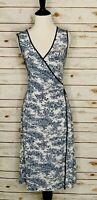 BCBG Max Azria Women Size Medium M Printed Dress