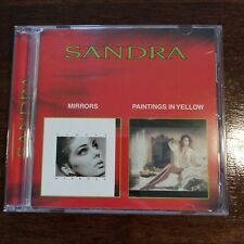 SANDRA - MIRRORS / PAINTINGS IN YELLOW New Age Pop CD Album Compilation 18 Track