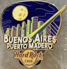 "Hard Rock Cafe BUENOS AIRES 2019 ""GREETINGS FROM"" Series PIN Guitar Pick #522572"