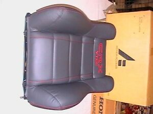 original Honda CRX seatback assy for the right front seat  *NH167L/NH83L*