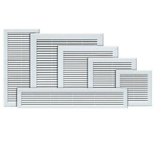 Air Vent Grille White Wall Ducting Vent  Cover High quality Louver Sizes . X & Y