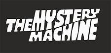 The Mystery Machine VW VAG EURO Vinyl Decal Sticker Skate BMX sticker Skateboard