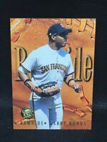 1996 Fleer Ultra Rawhide Gold Medallion Edition Barry Bonds #2 Star MInt