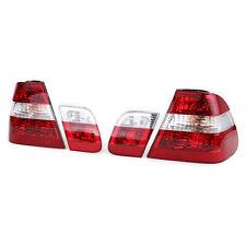 Rückleuchten Rot Klar Facelift Optik für BMW 3ER E46 Limousine 98-01