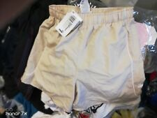 puma shorts  PLAIN  BEIGE LEISURE AT £6 INNER BRIEF inmed 34 INCH with pockets