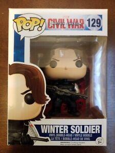 FUNKO POP! VINYL CAPTAIN AMERICA CIVIL WAR - WINTER SOLDIER #129