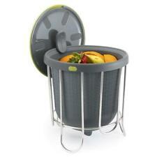 Polder Silicone Kitchen Composter - 3.8L, Grey (KTH-1415-425)