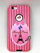 iPhone 6 /6s Cover Eiffel Tower Hard Hybrid Case