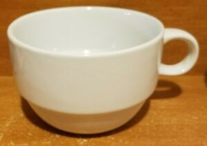 """Mainstays STACKABLES WHITE Soup Mug, 3"""", Stoneware, Very good"""