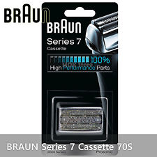 BRAUN Series 7 Cassette 70S Replacement Silver Blade Shave Shaver Parts Pulsonic