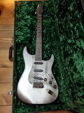 James Trussart Steel O Matic Electric Guitar Steel & Snake Skin Arcane Pickups