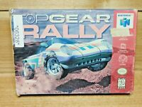 Top Gear Rally (Nintendo 64, 1997) With Box No Manual Tested Works Great