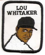LOU WHITAKER 1979 Vintage Penn Emblem Baseball Player Patch-Detroit Tigers