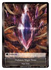 1x FOIL Darkness Magic Stone - TMS-101 - C - FOIL Force of Will FOW ~~~~~~ MINT