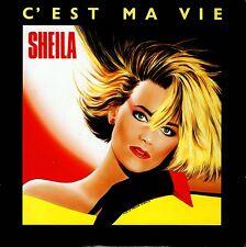 CD single SHEILAC'est ma vie - 2-TRACK CARD SLEEVECDSINGLEWarner2008France