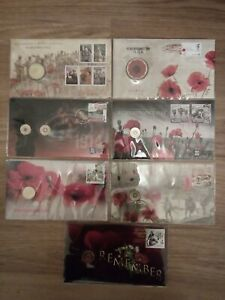 2008-11-14-15-16-17-18 Remembrance Day PNC Overprint Limited Edition