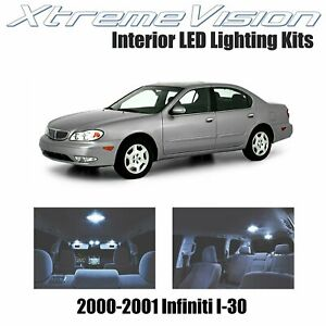 XtremeVision LED for Infiniti I-30 2000-2001 (4 Pieces) Cool White Premium Inter