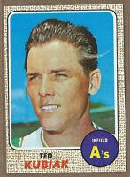 1968 Topps #79 Ted Kubiak  A's    (20% *Rebate w 10 Card Order!!)