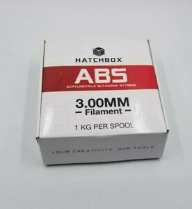 HATCHBOX ABS 3D Printer Filament, Dimensional Accuracy +/- 0.05 mm, 1 kg Spool,