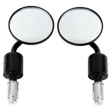"""7/8"""" Rear View Mirrors Handle Bar End For Kawasaki Z1000 Z750 ER-6F ER-6N Versys"""