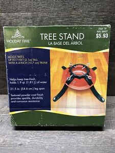 Fresh Cut Christmas Tree Stand Up To 7ft Tall Live/Fresh Cut Trees