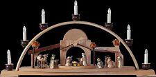 Candle Arches Oriental Colour Seiffen Erzgebirge Christmas Birthday Star NEW