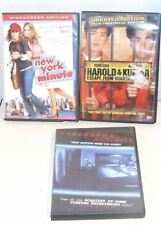 Harold & Kumar Escape from Guantanamo bay. New York minute. Paranormal Activity.