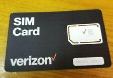 Verizon Sim Card (Bulksim-Tri-A)