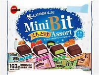 Bourbon, Mini Bit Assort, 4 kinds Chocolate Assortment Bag, 163g, Japan, S1