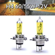 2x H4 60/55W 12V P43t Jurmann Aqua Vision Gelb Scheinwerfer Auto Lampe E-geprüft