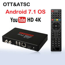 Android ATSC Digital Converter Box TV Tuner 4k youtube FTA Antenna Media player