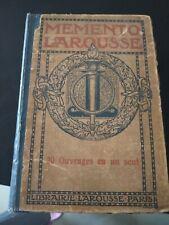 ANCIEN DICTIONNAIRE LAROUSSE 20 ouvrages en un seul