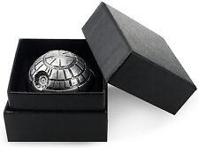 Death Star Grinder Premium Grade Aluminum Herb Spice Grinder 3 Layers w/Gift Box