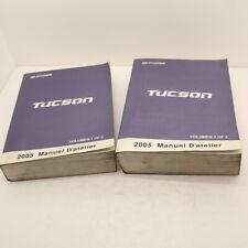 MANUEL TECHNIQUE D ATELIER HYUNDAI TUCSON 2005 2 VOLUMES REVUE ORIGINALE