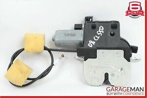 07-14 Mercedes CL550 S550 Rear Trunk Lid Lock Latch Actuator Mechanism OEM