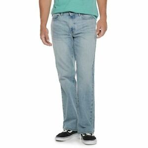 urban pipeline   relaxed bootcut  LIGHT GREY WASH sz 30x32