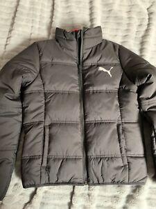 Children's padded puma jacket age 9-10 years