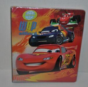 Disney Pixar Cars 2 3 Ring Binder 1' Lightning McQueen, Francesco Bernoulli, Max
