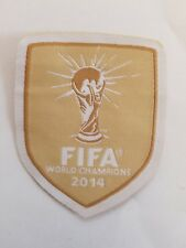 FIFA World Champions X 2014 Patch A9 Soccer Football Free Shipping