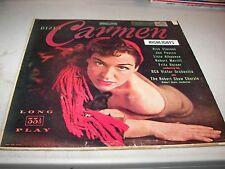 BIZET CARMEN HIGHLIGHTS ROBERT MERRILL FRITZ REINER LP VG+ RCA Victor LM1749 '52