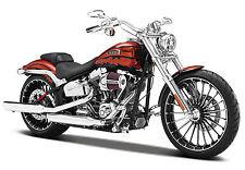Maisto Modèle réduit de moto Miniature Harley Davidson 2014 CVO BREAKOUT 1/12