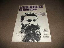 LARGE  P/BACK BOOK NED KELLY IN PICTURES OVER 50 ORIG. PHOTOS AND LINE DRAWINGS