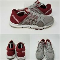 Reebok YourFlex Burgendy Low Running Athletic Shoes Sneakers Low Mens Size 11