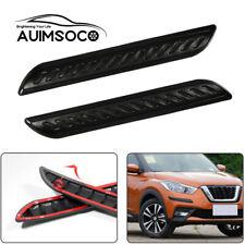 2Pcs Car Bumper Protector Anti-collision Strips Rubber Auto Guard Corner Rubber