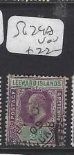 LEEWARD ISLANDS (P1610B)  KE  1/2D   SG 29A   VFU