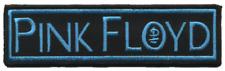 19169 Pink Floyd Blue Black Logo British Rock Music Band 70's 80's Iron On Patch